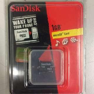[BNIB] ScanDisk 1GB MicroSD Card
