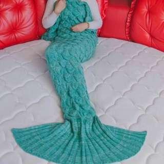 Mermaid Blanket Green (On Hand)
