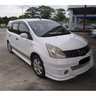 2010 Nissan Grand Livina 1.6 Comfort MPV