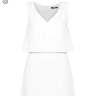 ZALORA White Shift Dress