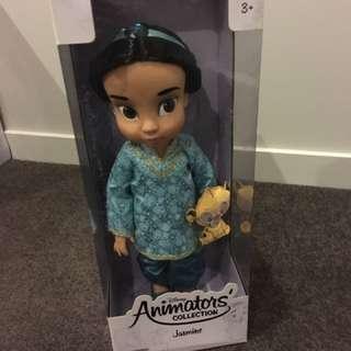 Disney Animators Princess Jasmine Aladdin Doll Plush