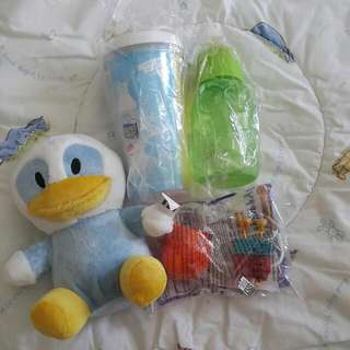 Botol, Tumbler, Boneka & Mainan Happy Meal