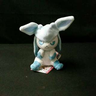 Official Pokemon I HEART EEVEE Glaceon Plush