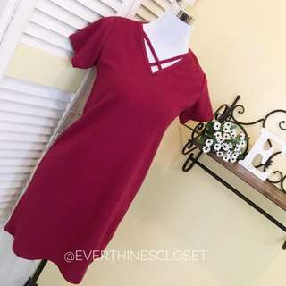 X Front Basic Dress