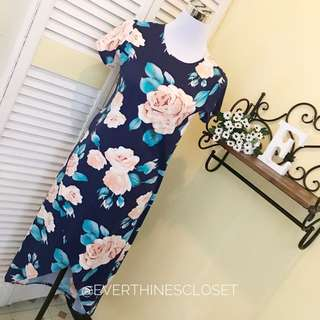 Floral Maxi with front slig