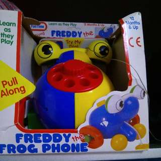 Freddy The Frog Phone