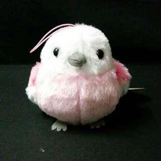 Peanuts Club Rose Pink Bird Plush