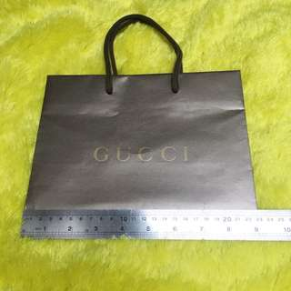 GUCCI AUTHENTIC PAPERBAG