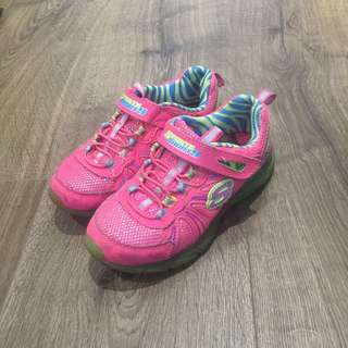 Sketchers Sporty Shorty Pink Sneakers Size EUR 28.5