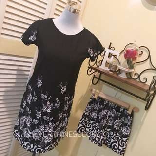 Terno Dress with shorts