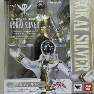 #jualmainan Action Figure SHF Gokai Silver