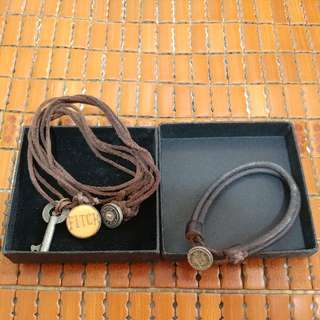 Abercrombie And Fitch (A&F A And F) Necklace Bracelet