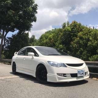 Honda Civic 1.8a New 5 Year Coe
