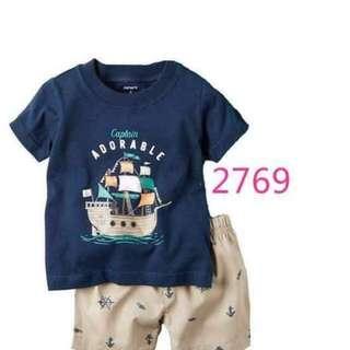 Carter's Short & Shirt Set