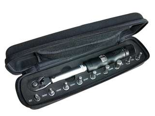 1/4 Torque wrench 2-14Nm & bit socket set