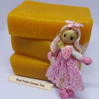 AMALIA Red Palm, Green Tea & Anise Anti-aging Soap