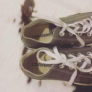 Grey Converse Sneakers |