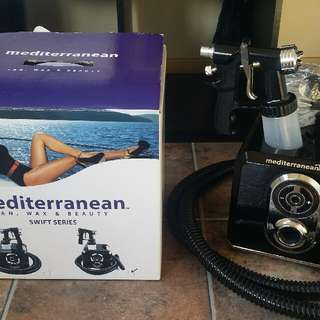 NEW Mediterranean Spray Tan Machine