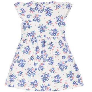 MOTHERCARE FLORAL SUMMER DRESS