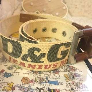 D&G Dolce & Gabbana Belt