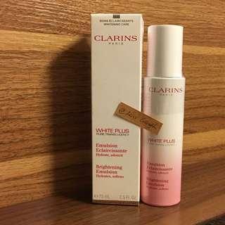 Clarins White Plus Pure Translucency Brightening Emulsion 2.5 Fl. Oz