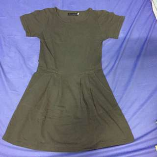 Khaki Dress by Bloop