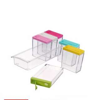 6 Pieces Set Portable High Quality Condiment Box