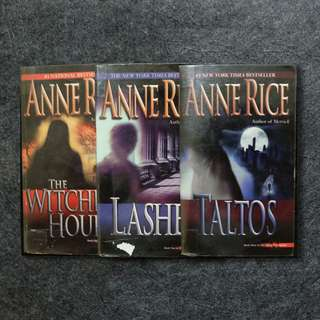 Lives of the Mayfair Witches Set by Anne Rice