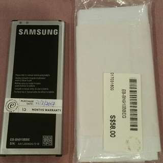Authentic New Samsung Note 4 Battery