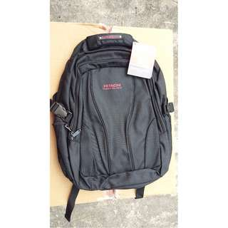Hitachi Bag with laptop slot.