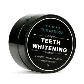 #1212YES Charcoal Teeth Whitening Powder, Charcoal Toothpaste & Charcoal Toothbrush Set (3 In 1 Set)
