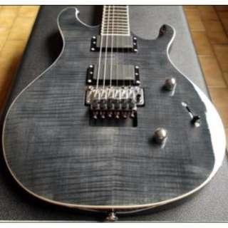 PRS TORERO Black Flame Maple Guitar