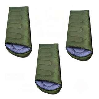 Envelope Folding Outdoor Sleeping Bag (Green)