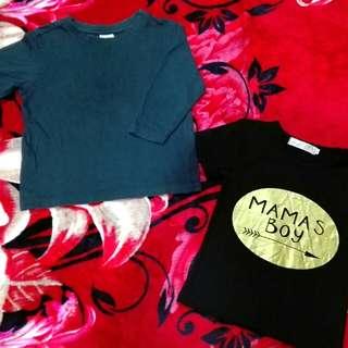 t-shirt set combo