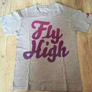 Fly Society 美國街牌 Size:S 飛高高系列 女生也可以穿 本賣場任選4樣300元商品只要1000元含運唷~