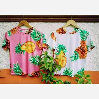 D&G inspired pineapple tshirts