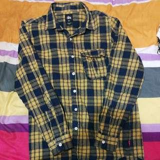 Stussy Flannel Shirt Unisex