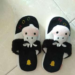 Cow Home Slippers