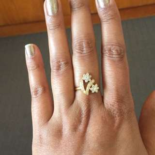22cr Solid heavy ring