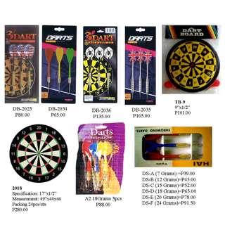 Dart Pin and Dart Board - Sporting goods