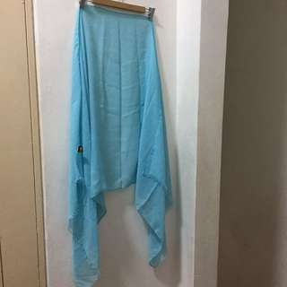 Baby Blue Soft Rania Cotton Shawl