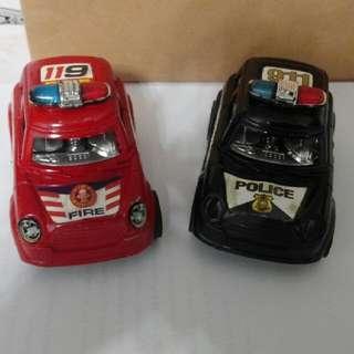 Q版Mini Cooper 玩具車2架