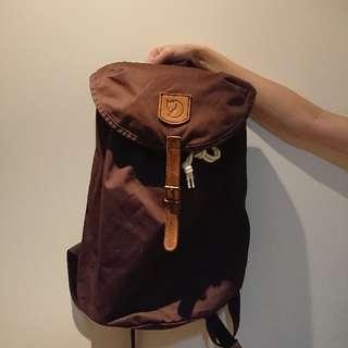 fjallraven kanken canvas backpack 狐狸 帆布 啡色 背包