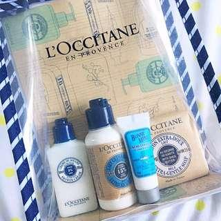 L'Occitane Cream And Shower Gel Set