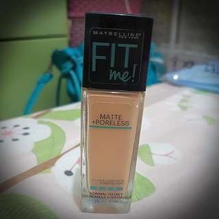 Maybelline Fit Me Matte Poreless Foundation #230 (Natural Buff)