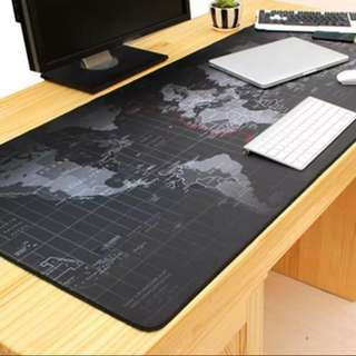 World Map Mouse Mat Large Pad Notebook Desktop Computer Gaming Mouse Mat Gamer Lover CS Go Player Full Mouse Pad