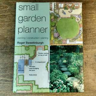 "Book ""Small Garden Planner"" by Roger Sweetinburgh"