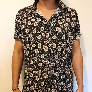Arvust floral button-up