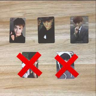 WTS EXO PHOTOCARDS