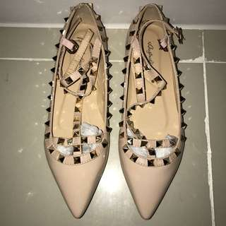 Valentino Caged flats inspired